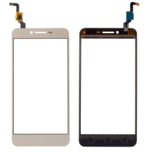 OEM Touch Digitizer Screen Glass for Lenovo Vibe K5 Plus A6020 - Gold Color