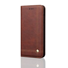 official photos 95e16 d18d6 Retro Style Auto-absorbed Crazy Horse Leather Cover for Xiaomi Redmi Note  5/Redmi 5 Plus - Coffee