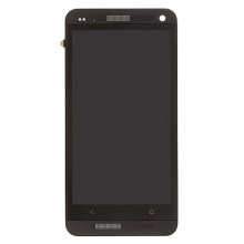 Black Front Housing LCD Assembly with Touch Screen Digitizer for HTC One M7 801e OEM