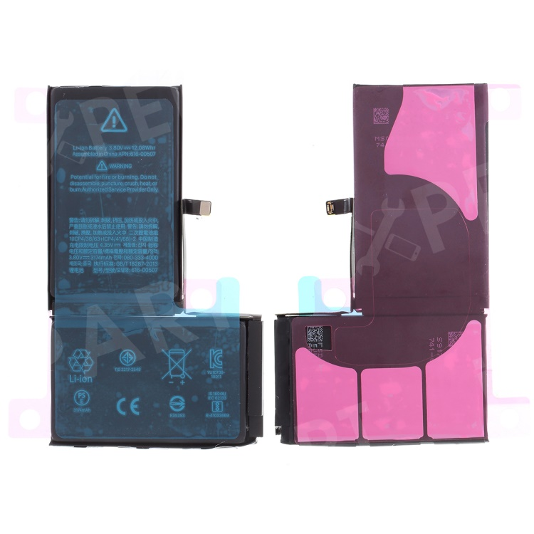 For Apple iPhone XS Max 6.5 inch 3174mAh 3.82V Li-ion Battery and Assembly Flex Cable, iPhone XS Max 6.5 inch