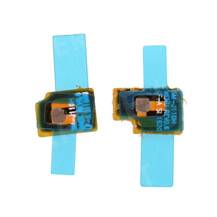 OEM 2Pcs/Set Home Button Sensor Flex Cable Repair Parts for Samsung Galaxy J1 (2016) J120 / J1 Ace J110, Galaxy J1 (2016)