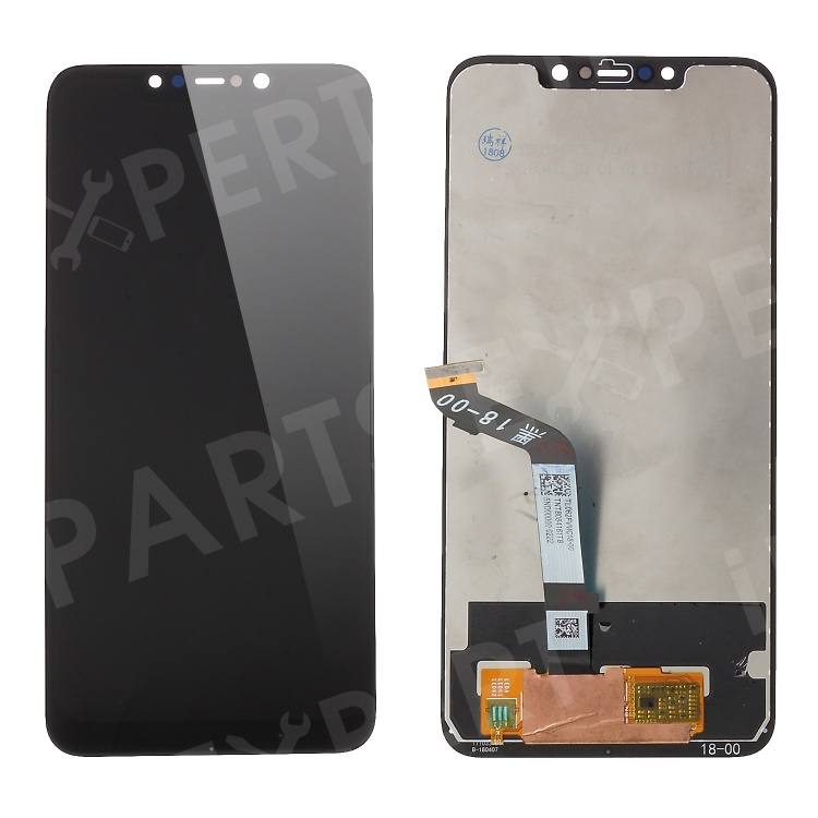 Купить со скидкой LCD Screen and Digitizer Assembly Part for Xiaomi Pocophone F1 / Poco F1 (India) - Black