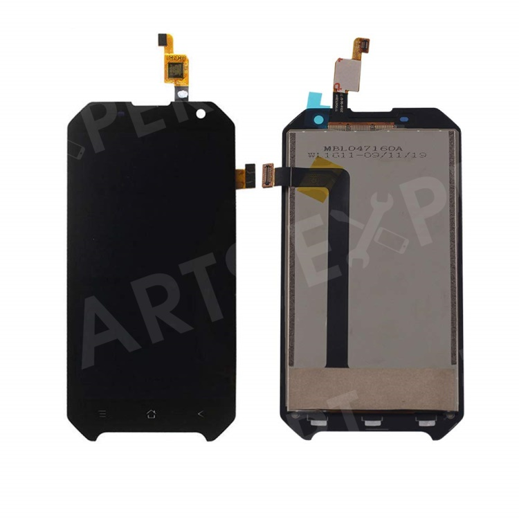 OEM LCD Screen and Digitizer Assembly Part for BlackView BV6000 / BV6000S - Black, Other Phone Models