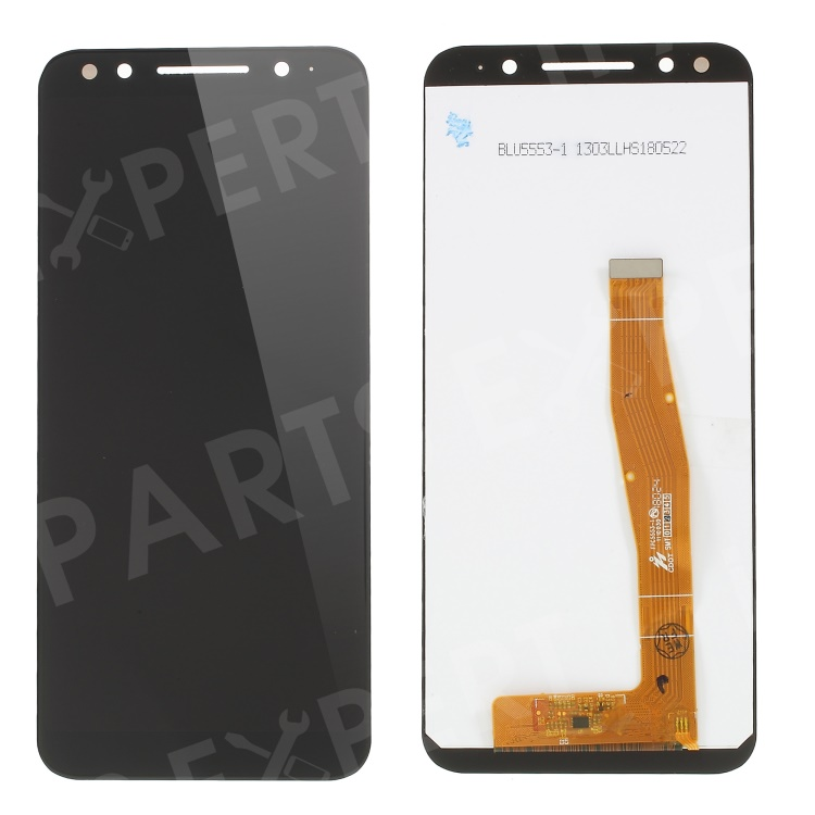 [Brand New and OEM] LCD Screen and Digitizer Assembly Replacement for Alcatel 3 5052 - Black, Alcatel 3 (2018)