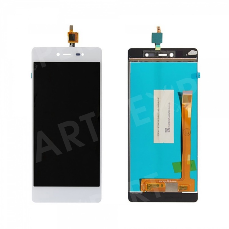 LCD Screen and Digitizer Assembly Spare Part for Wiko Fever 4G / Fever SE - White, Wiko Fever 4G