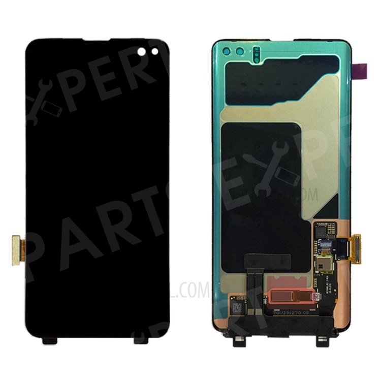 Купить со скидкой OEM for Samsung Galaxy S10 Plus LCD Screen and Digitizer Assembly Replacement - Black