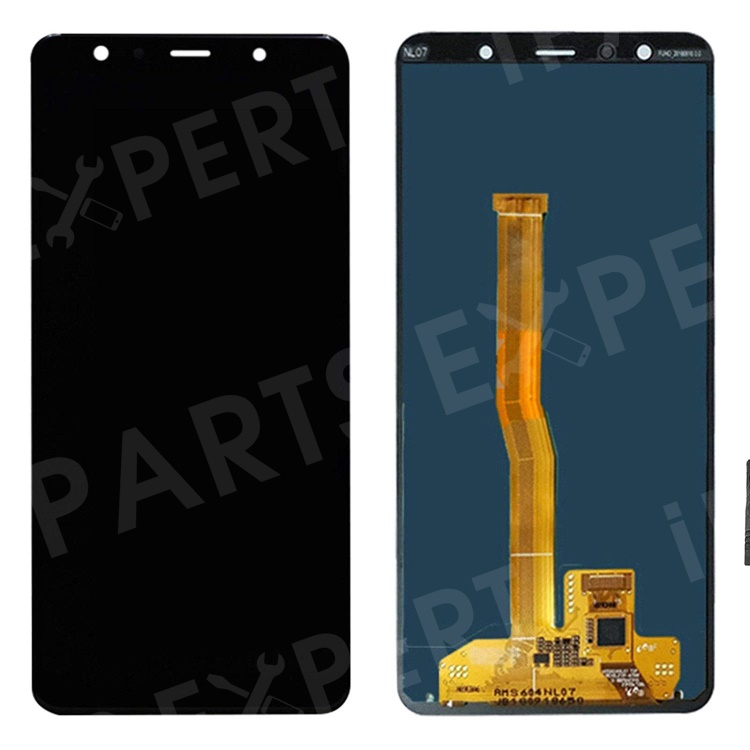 Купить со скидкой OEM LCD Screen and Digitizer Assembly for Samsung Galaxy A7 (2018) A750 - Black