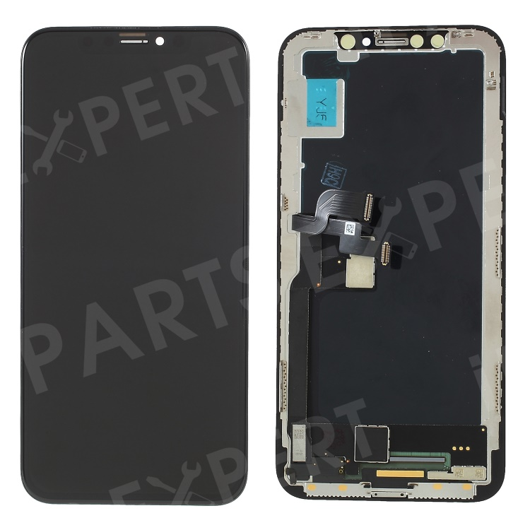 Купить со скидкой LCD Screen and Digitizer Assembly Spare Part (Made by China Manufacturer) for iPhone X - Black