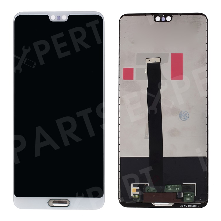 Купить со скидкой For Huawei P20 LCD Screen and Digitizer Assembly Part - White