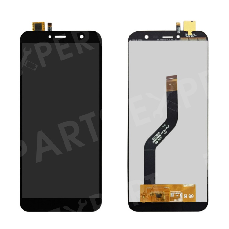 OEM LCD Screen and Digitizer Assembly Part for Cubot X18 - Black, Other Phone Models