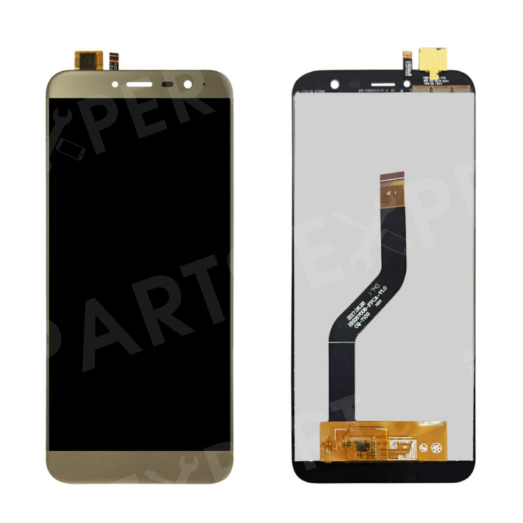 OEM LCD Screen and Digitizer Assembly Part for Cubot X18 - Gold, Other Phone Models