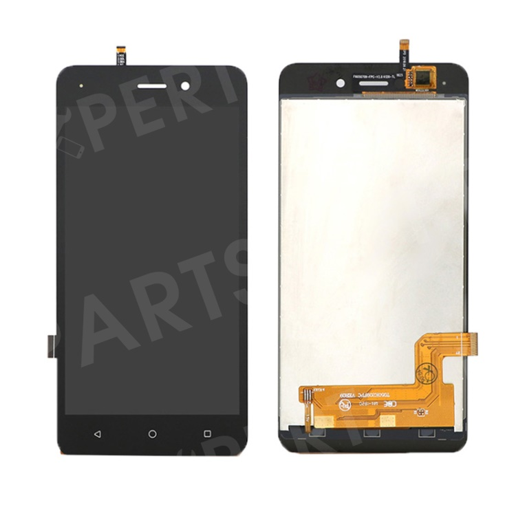 LCD Screen and Digitizer Assembly Replacement Part for Sunny 3 - Black, Other Wiko Models