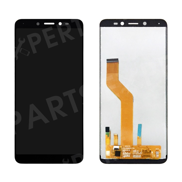OEM LCD Screen and Digitizer Assembly Replacement Part for Sunny 3 Plus - Black, Wiko Sunny 3 Plus