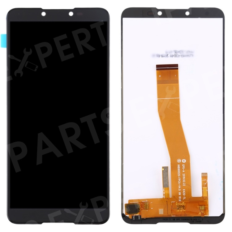 OEM LCD Screen and Digitizer Assembly Replacement Part for wiko Y70 - Black, Other Wiko Models