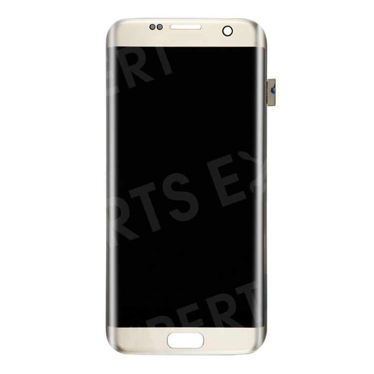 OEM LCD Screen and Digitizer Assembly for Samsung Galaxy S7 edge G935 - Gold Color, Galaxy S7 edge