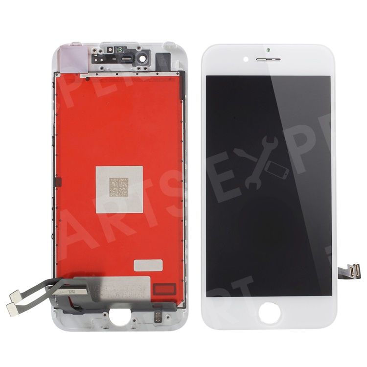 Купить со скидкой For iPhone 7 4.7 LCD Screen and Digitizer Assembly + Frame with Small Parts (Made by China Manufactu