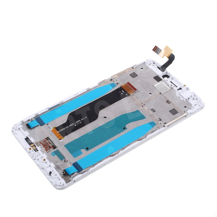LCD Screen and Digitizer with Assembly Frame Replacement for Xiaomi Redmi  Note 4X (Qualcomm 625 Chipset Version) - White