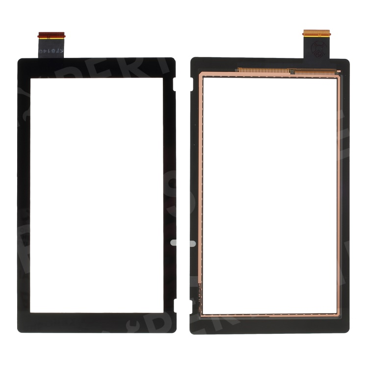 OEM Touch Digitizer Screen Glass Replacement for Nintendo Switch NS - Black, Other Phone Models
