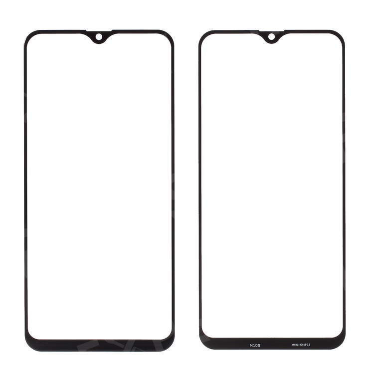 For Samsung Galaxy M10s SM-M107 Outer Screen Glass Lens Replacement Part - Black, Samsung Galaxy M10s