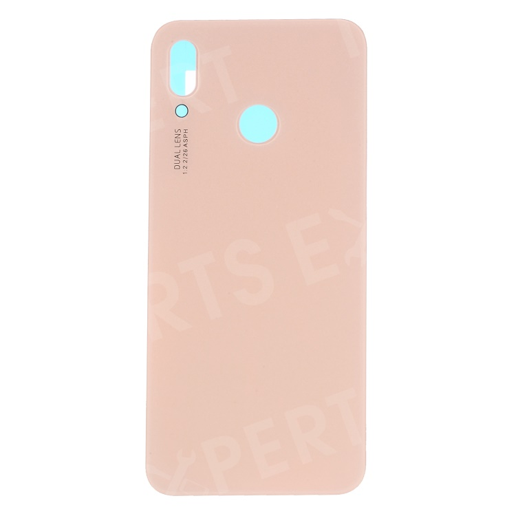 Huawei p20 Lite back housing cover plate camera lens adhesive Pink