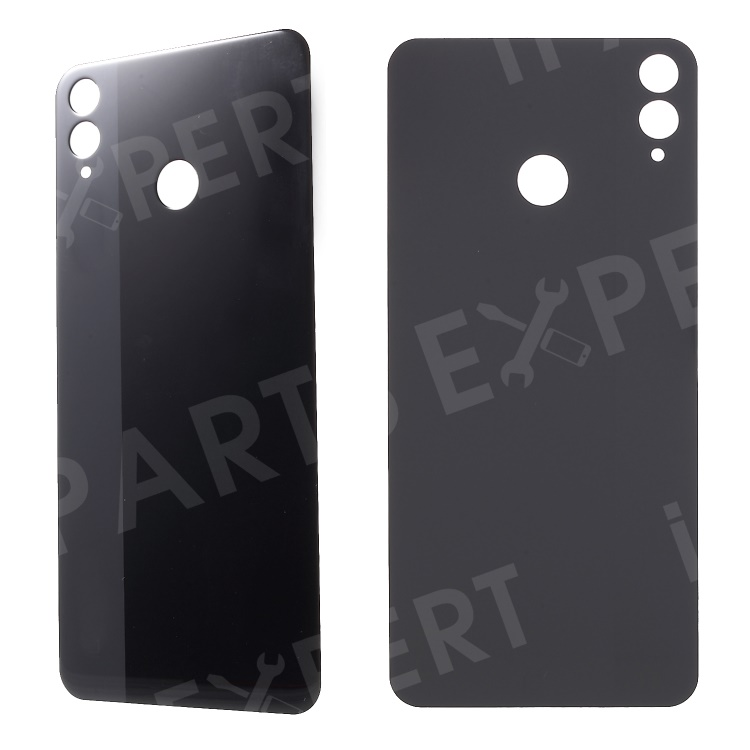 Купить со скидкой Battery Housing Door Cover with Adhesive Sticker for Huawei Honor 8X - Black