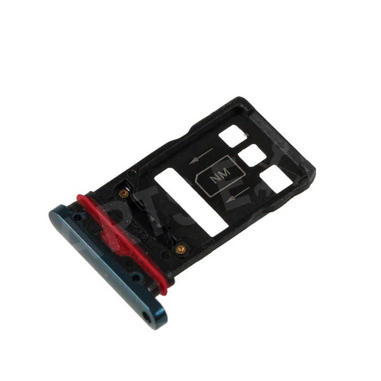 OEM Dual SIM Micro SD Card Tray Holder Replacement for Huawei Mate 20 Pro -  Green