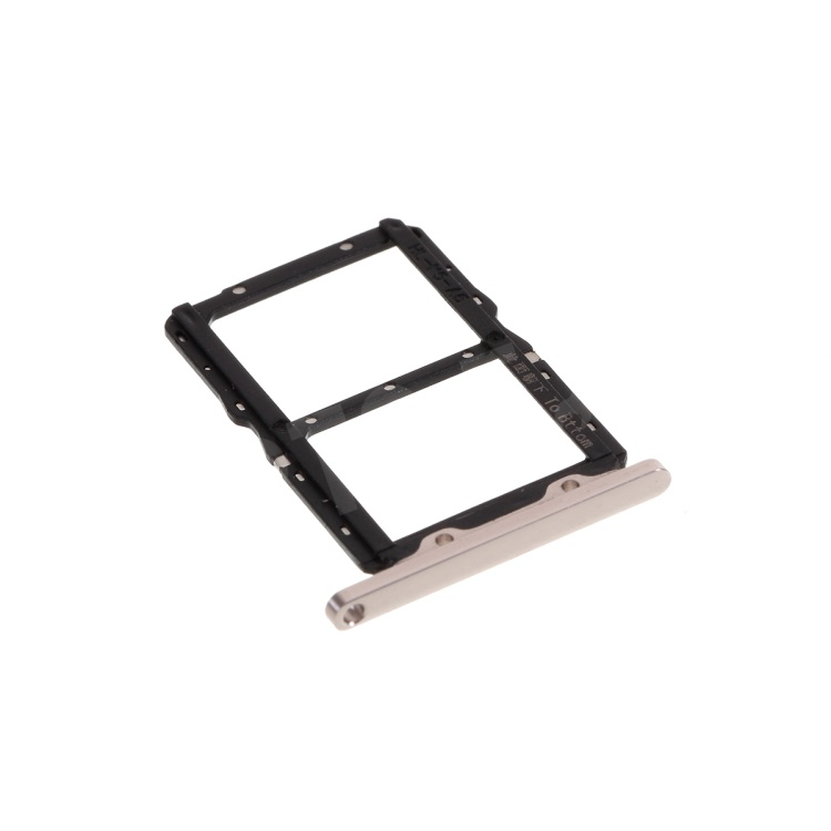 OEM SIM Card Tray Holder Replace Part for Huawei Honor 20/Nova 5T YAL-L21 - Silver, Huawei Honor 20