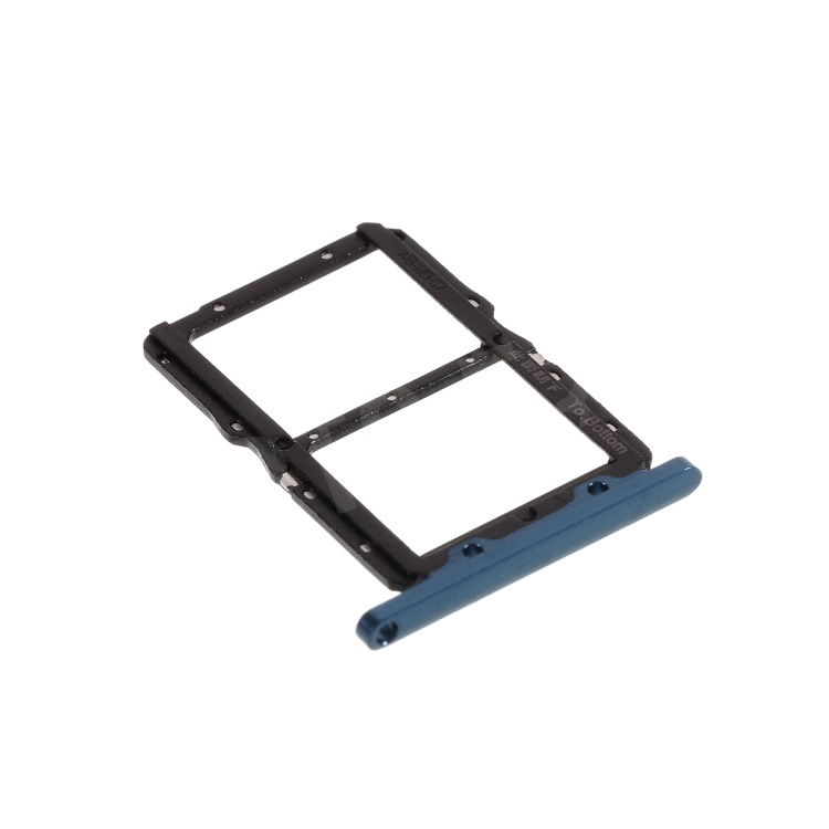 OEM SIM Card Tray Holder Replace Part for Huawei Honor 20/Nova 5T YAL-L21 - Dark Blue, Huawei Honor 20
