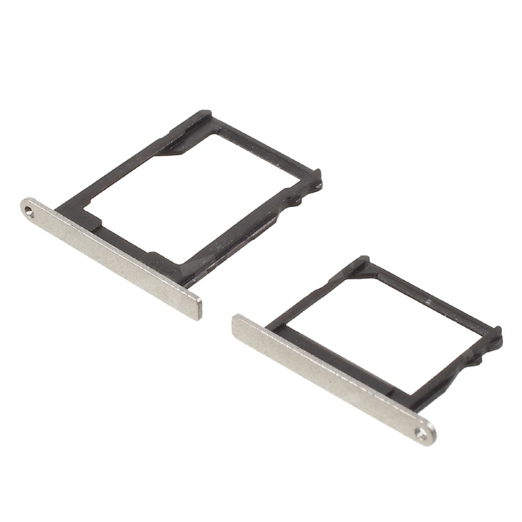 2Pcs OEM for Huawei Ascend P8 SIM1 + SIM2/Micro SD Card Slot Holders - Gold  Color