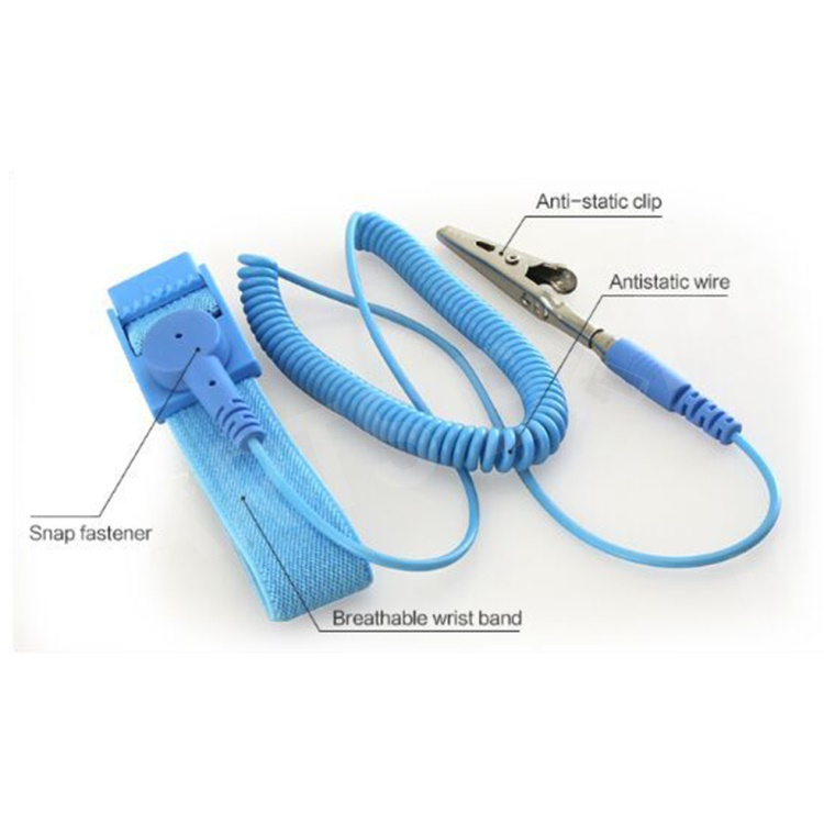 Hot Anti Static ESD Adjustable Wrist Strap electronic Discharge Band Ground RS