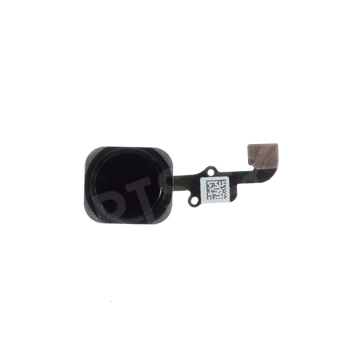 Black OEM Home Button with PCB Membrane Flex Cable Replacement for iPhone 6 4.7 Inch