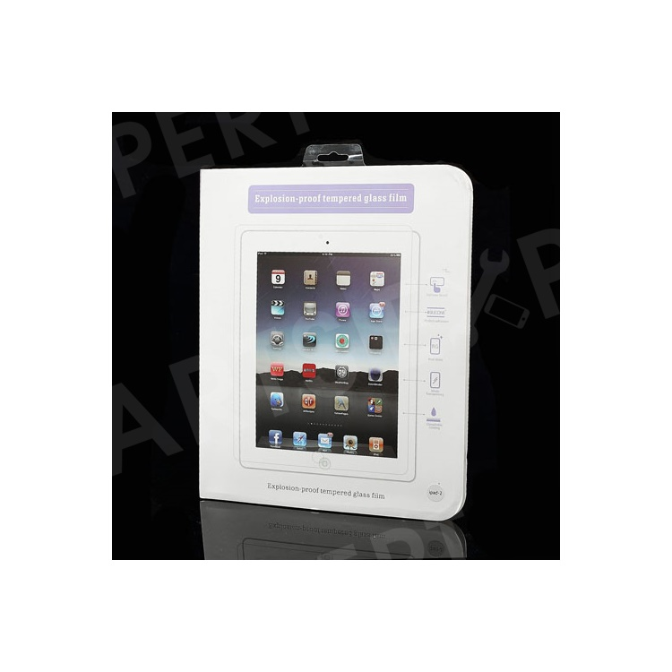 Premium Explosion-proof Tempered Glass Film Screen Protector for The New iPad 3 iPad 2 4