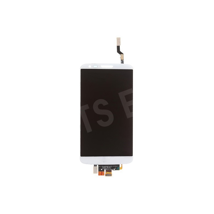 White OEM LCD Assembly with Touch Screen Digitizer for LG G2 D800 AT&T Version