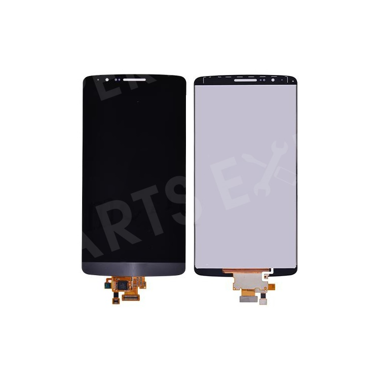 OEM LCD Screen and Digitizer Assembly for LG G3 D850 D855 - Silver