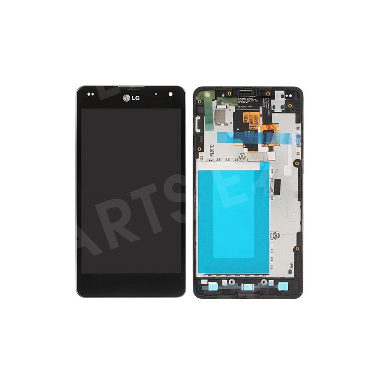 With Frame LG Optimus G E973 E975 Glass Touch Screen Digitizer LCD Assembly