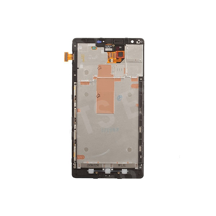 LCD Screen and Digitizer Assembly with Front Housing Replacement for Nokia Lumia 1520 OEM