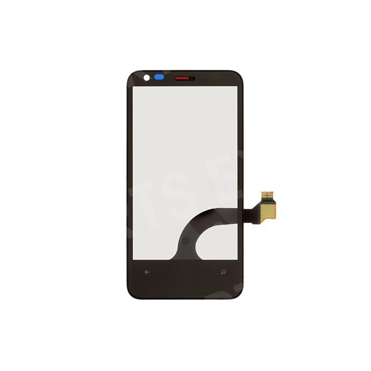 For Nokia Lumia 620 Digitizer Touch Screen with Front Housing (OEM)