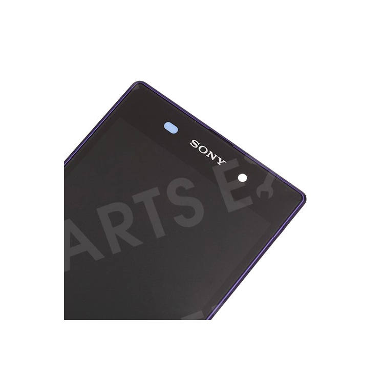 Purple OEM LCD Screen and Digitizer Assembly with Front Housing for Sony Xperia Z1 L39h C6903 Honami